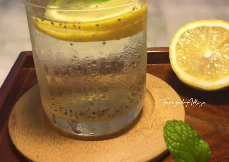 Air Lemon Chia Seed - resepipouler.com