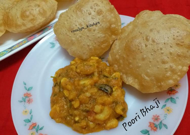 Learn How To Poori Bhaji