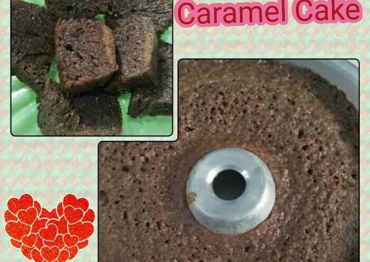 cara memasak Bolu sarang semut alias caramel cake - Sajian Dapur Bunda