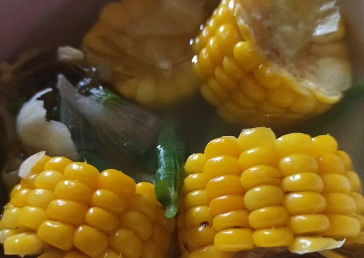Sayur asem jawa jagung manis
