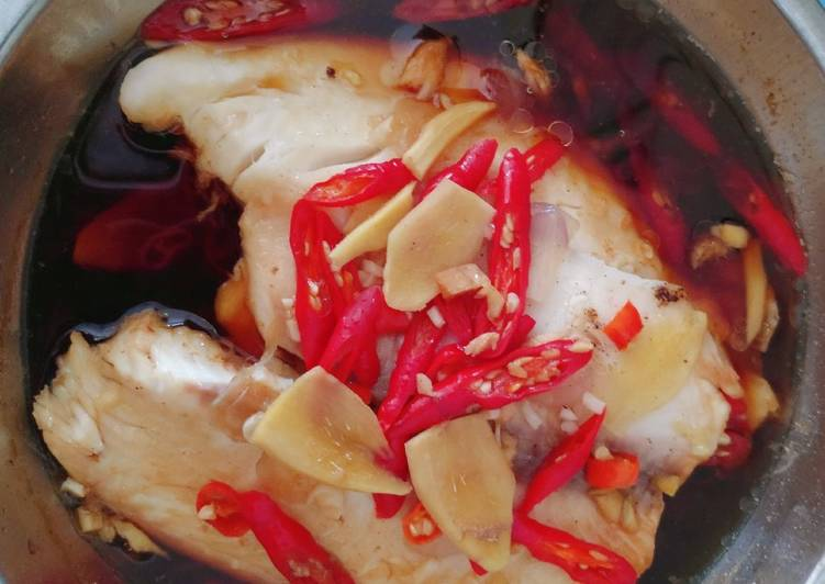 Chinese Steamed Fish Fillet