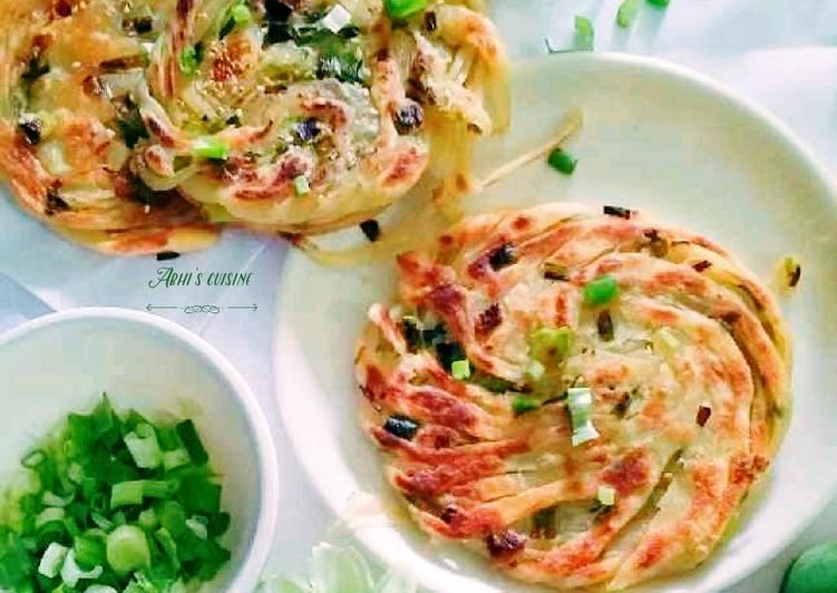 Chinese scallion pancake/Cong you Bing
