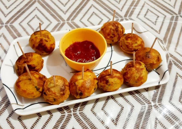 Mini Batata Vada(less oil Cooking) - Laurie G Edwards