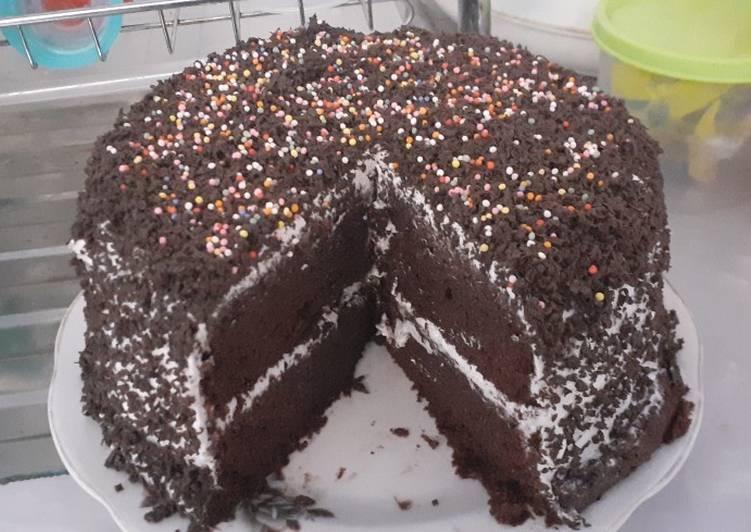 Bagaimana Buat Choco Banana Cake, no mixer no oven, Lezat