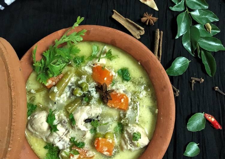 Recipe of Quick Chicken Stew – Kerala Style