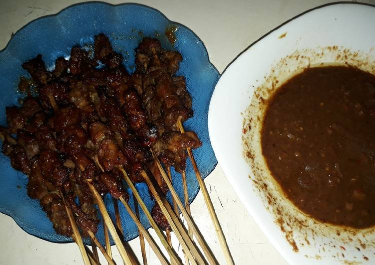 Resep Sate kambing bumka (bumbu kacang) #FestivalResepAsia#Indonesia Bikin Ngiler