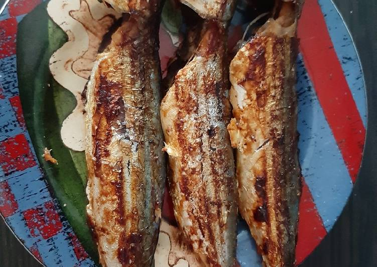 Ikan Makarel happycall bakar maknyuuuss