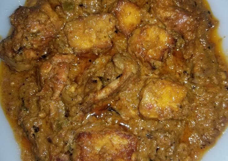 Chicken paneer