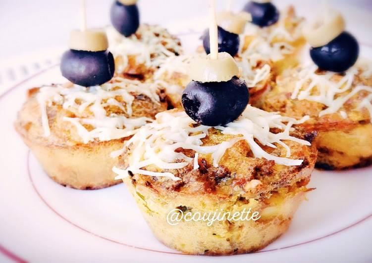 La Recette Pas à Pas Tagine tunisien en forme de muffin 🇹🇳