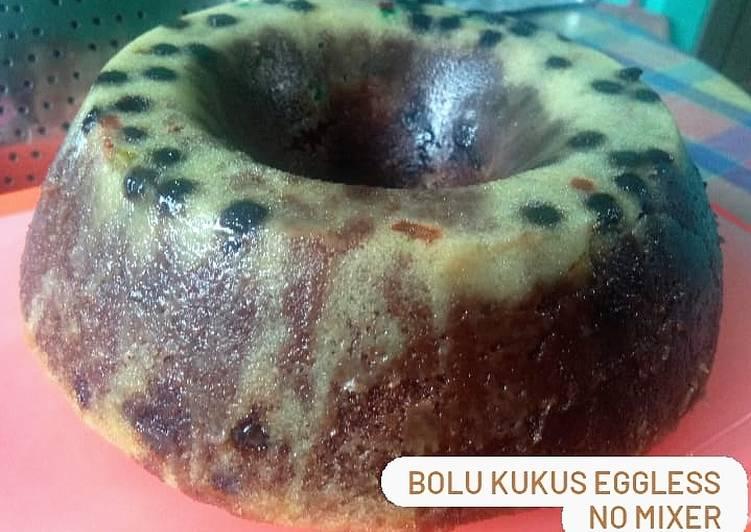 Resep Bolu Kukus Eggless No Mixer, Lezat