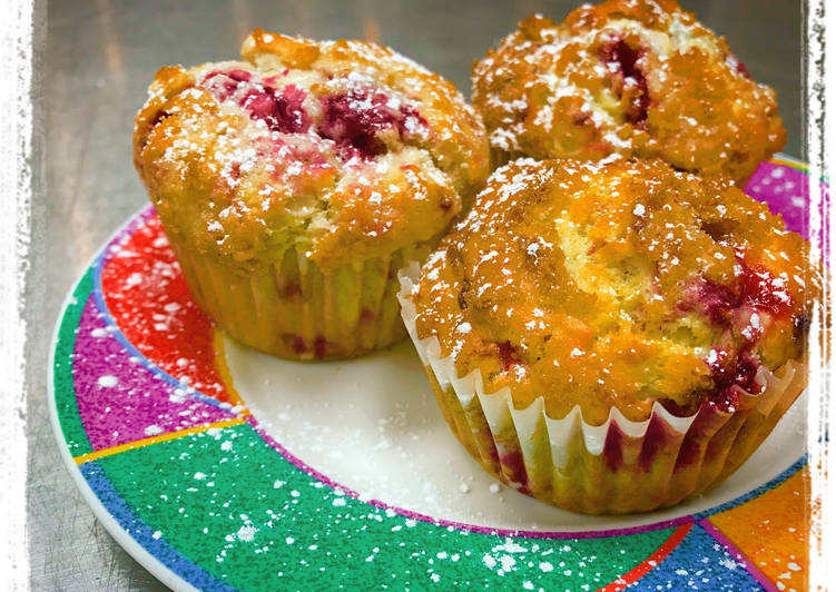Easiest Way to Prepare Perfect Sugar-Crusted Raspberry Muffins