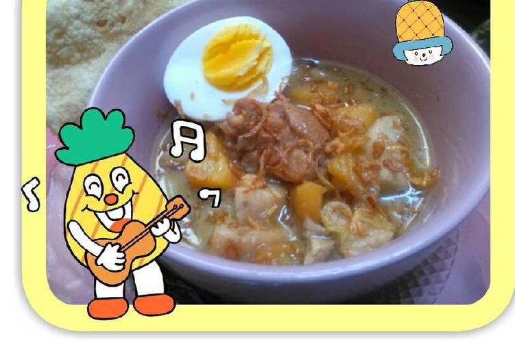 Bamboe Opor Ayam + Nanas