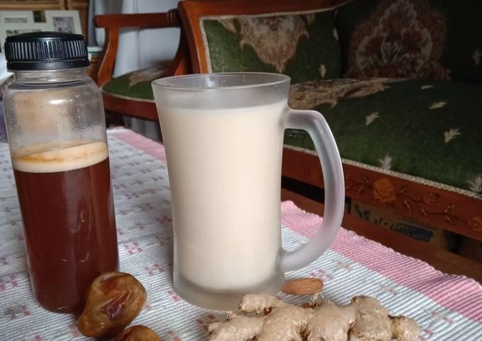 Susu Almond Kurma Madu Jahe