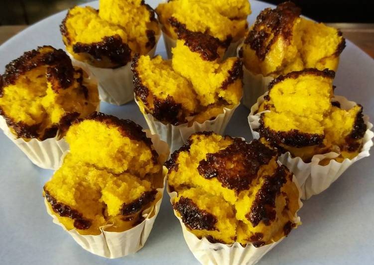 Bolu Kukus Oatmeal Durian