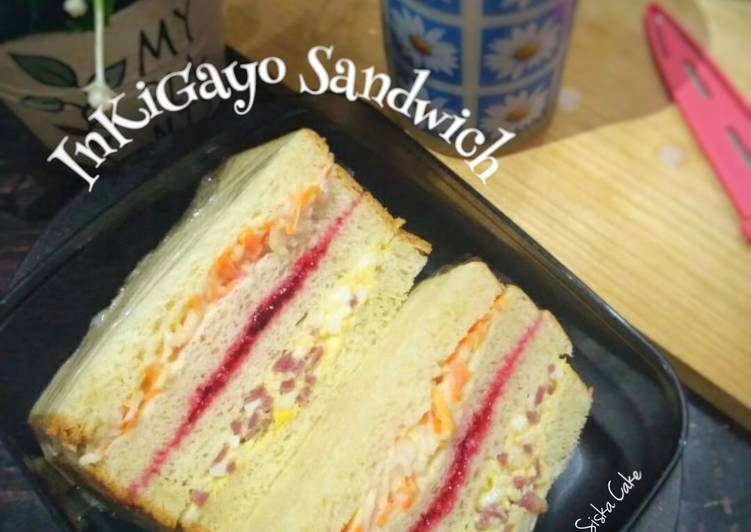 Resep Inkigayo Sandwich #1 Paling Top