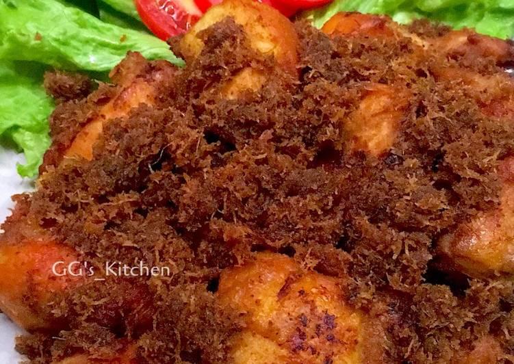 Langkah Mudah Untuk Membuat Ayam Goreng Serundeng Kelapa Yang Lezat Sekali