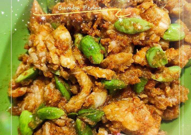 Resep Ayam Tumis Pete Bumbu Pedas, Menggugah Selera