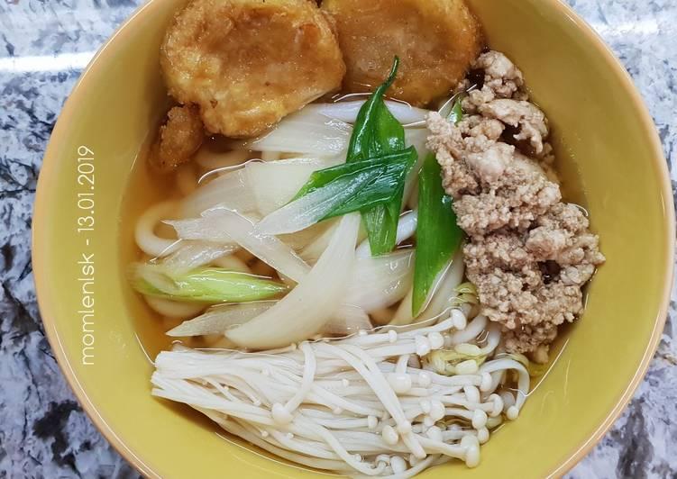 Udon Ayam Cincang