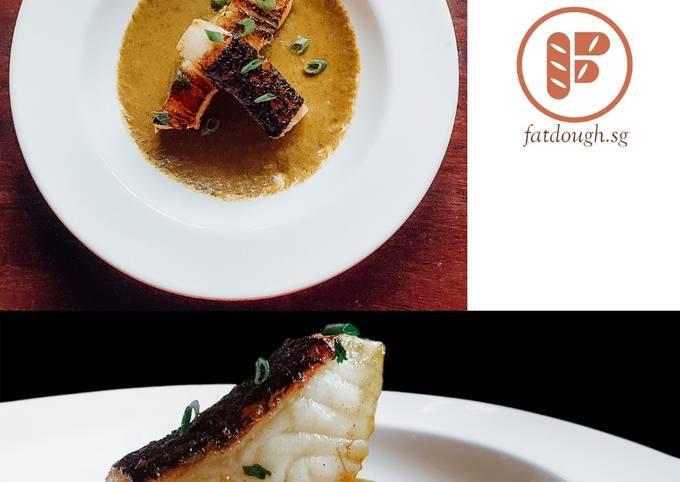Feast of Seven Fishes II - Ghalieh Mahi | Persian Cod With Herbs and Tamarind