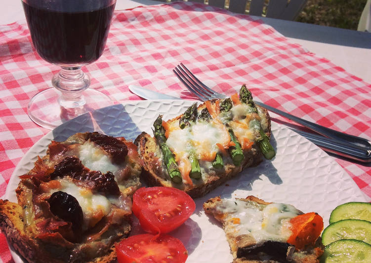 Recipe: Delicious Trio de Bruschetta