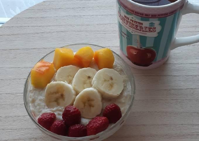 Porridge à la banane