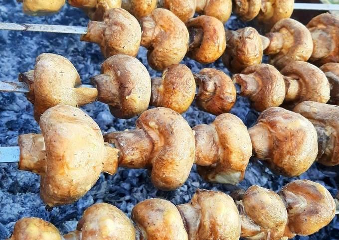 Грибочки на костре маринованные