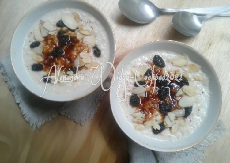 Bubur Oatmeal (manis)