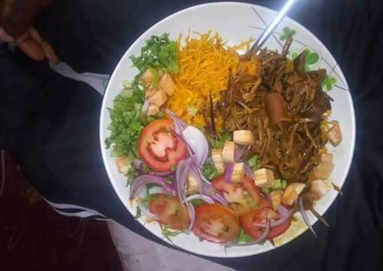 Ganished Abacha(African salad)