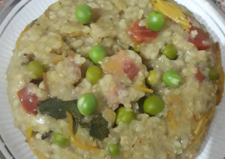 How to Make Speedy Peas Oats Cake Bake in Cooker