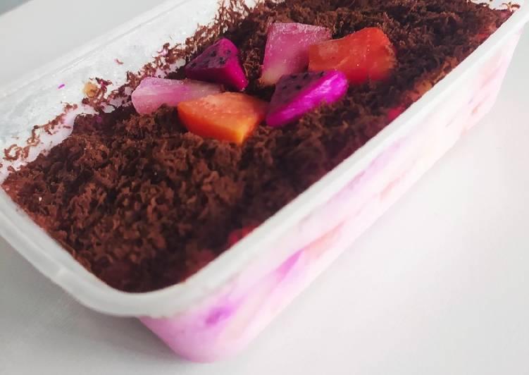 Salad buah coklat - cookandrecipe.com