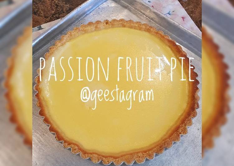Resep #79 Passion Fruit Pie Terenak