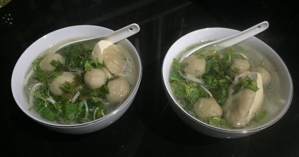 Resep Bakso Jamur Merang Bakso Vegetarian Oleh Theresa Rosaria Hapsari Cookpad