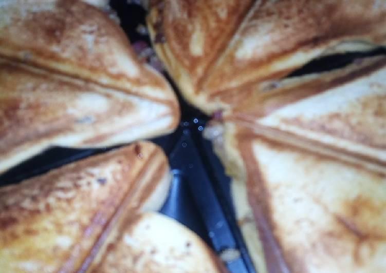Simple Way to Make Award-winning Toast bread with sardines