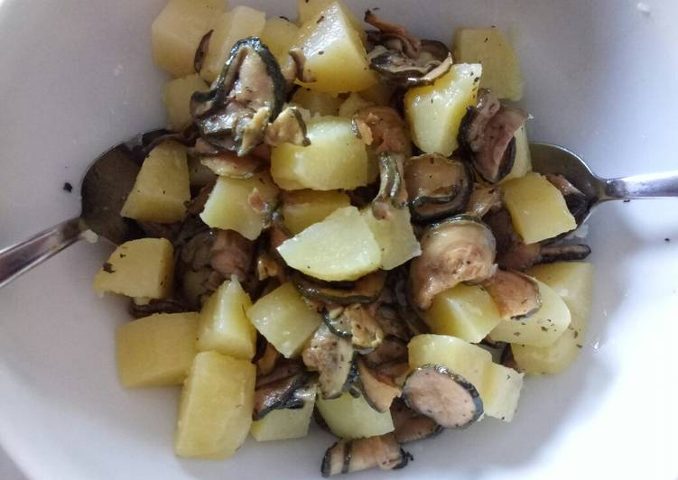 Step-by-Step Guide to Prepare Most Popular Potato and courgette salad