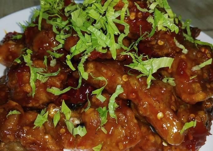 Ayam Hot Spicy ala Korea