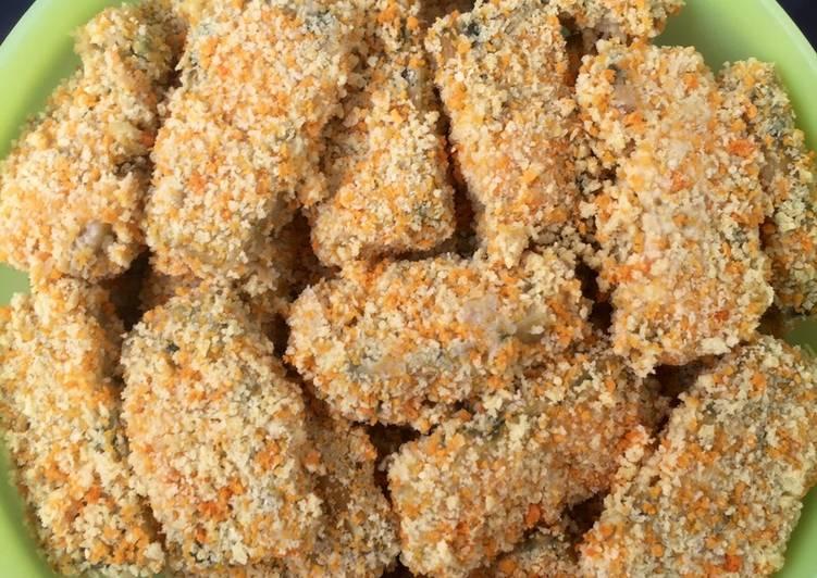 Resep Nugget Jamur Tiram Oleh Kania Pradini Cookpad