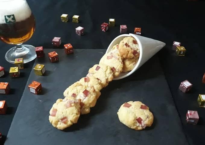 COOKIES salé parmesan lardons