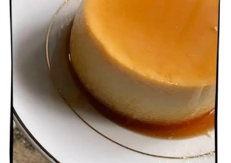 Custard Pudding Caramel ala rumahan