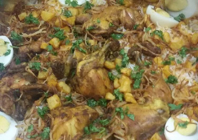 دجاج مبهر مقلي لذيذ 🐔