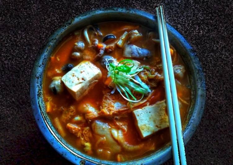 Cara Memasak #kimchi jjiggae murah