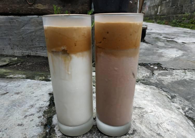 Cara Membuat Dalgona Coffee Tanpa Mixer