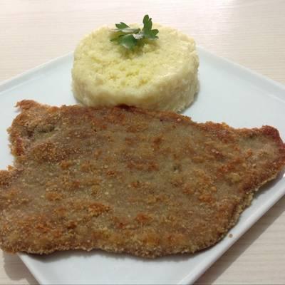 Milanesas De Carne Con Pure De Papas Receta De Haydee Agreda Cookpad