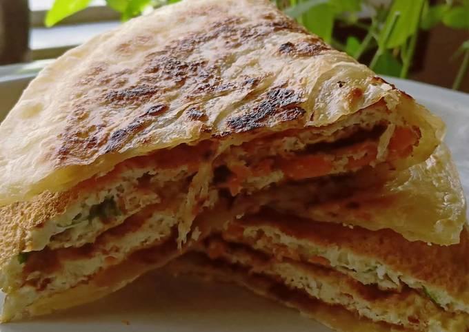 Roti Canai Telur Dadar