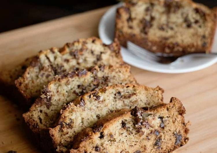 Recipe of Quick Chocolate Chip Banana Bread