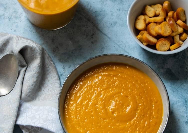 Comment Préparer Des Velouté carottes patate douce à la chicorée
