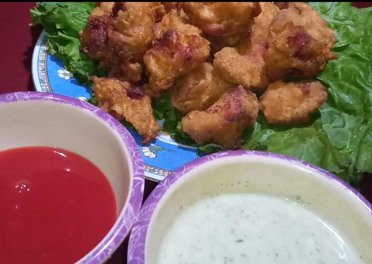 Steps to Make Homemade Restaurant Style Chicken Popcorn