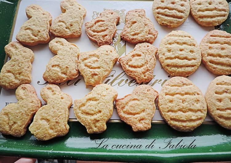 Ricetta Biscotti pasquali alle mandorle con frolla all'olio