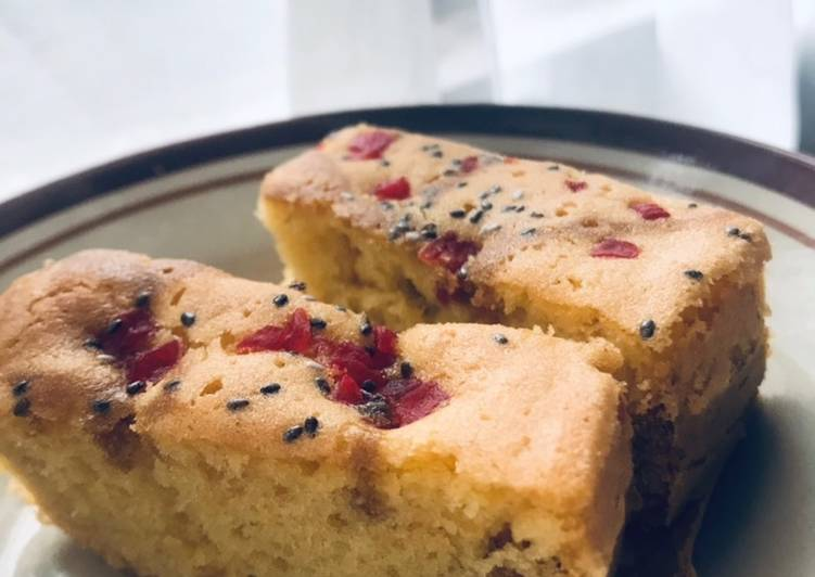 Traditional Succade with Organic Chia Seed Cake (Bolu sukade dengan Chia Seed) - cookandrecipe.com