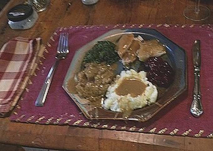 Rybak's Thanksgiving dinner
