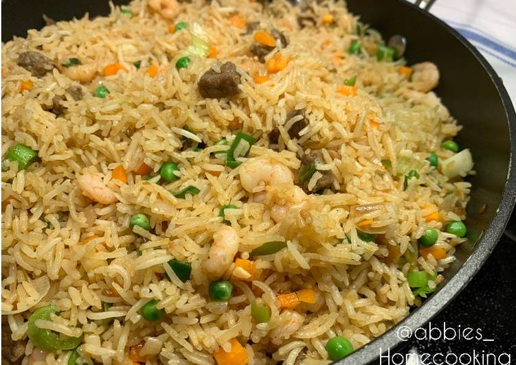 Fried rice, Many Of You May Not Recognize This But Coconut Oil Can Have Great Health Advantages To It